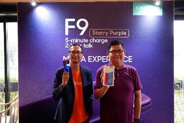 Peluncuran OPPO F9 Starry Purple di Jakarta.