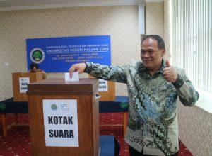 Rektor UM terpilih untuk periode 2018-2022, Prof Dr AH Rofi'uddin MPd.
