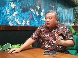 Ketua Bidang Hubungan Antar Lembaga Penegak Hukum Dewan Pengurus Nasional (DPN) Peradi, Hermawi Taslim.
