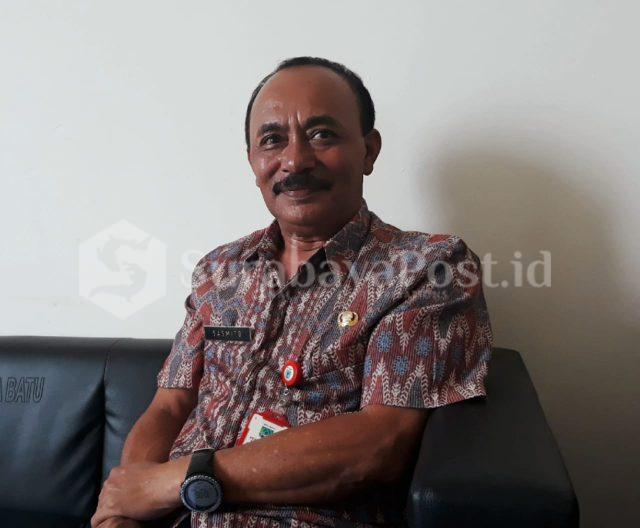 Kepala BPBD Kota Batu Sasmito