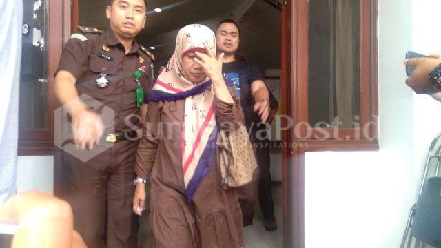 SN Saat dieksekusi tim Kejari Kota Malang