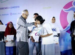 Siswa yang sukses meraih beasiswa dari OSC Medcom