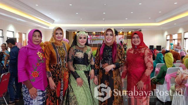 Bhayangkari Polres Makota merayakan hari Ibu, Sabtu (22/12/2018).