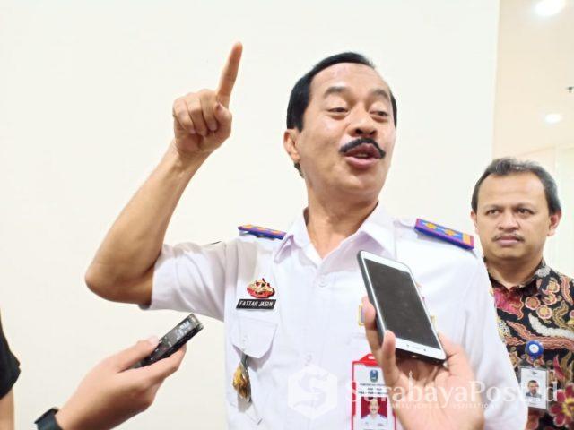 Kepala Dinas Perhubungan Provinsi Jawa Timur, Dr. Ir. Raden Bagus Fattah Jasin MS