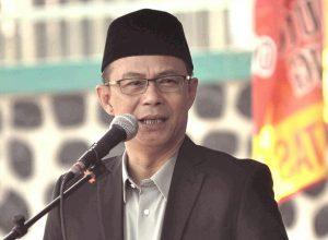 Rektor IBU Malang, Dr Nurcholis Sunuyeko