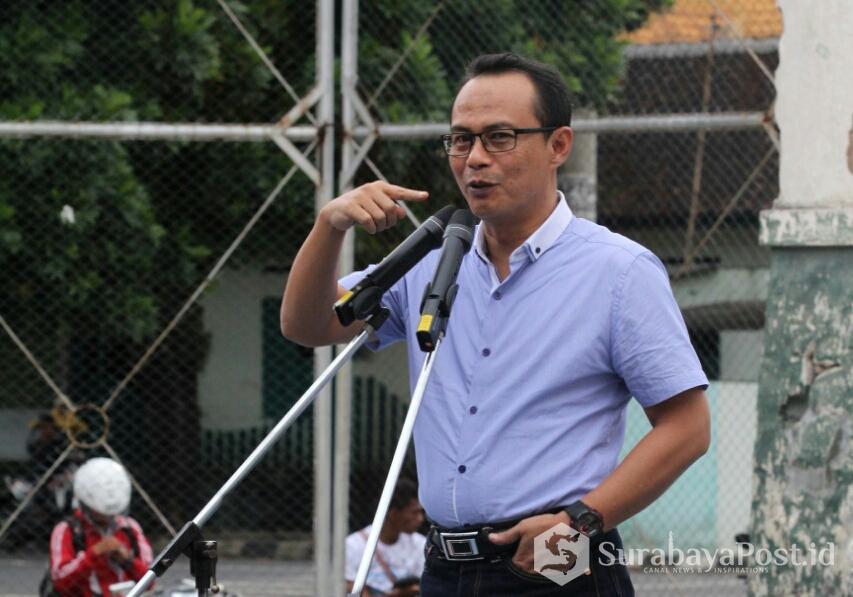 Rektor IKIP Budi Utomo Malang Dr Nurcholis Sunuyeko.