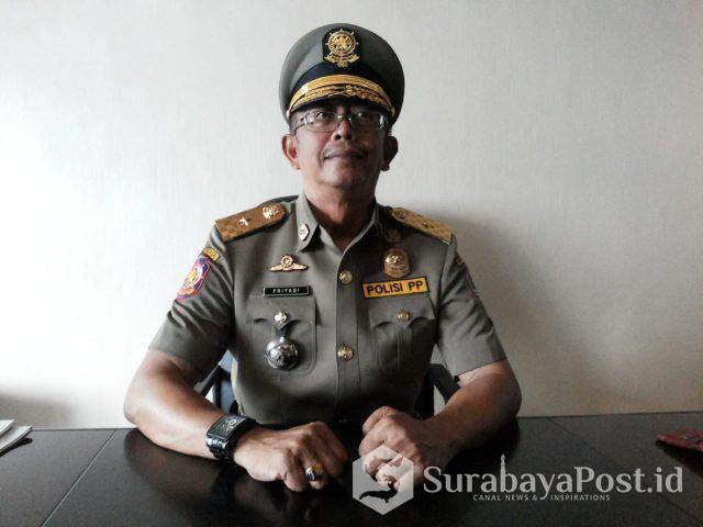 Kepala Satpol PP Kota Malang Supriyadi.