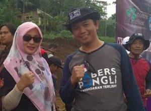 Herman Aga, anggota Komunitas Sabers Pungli Kota Batu.