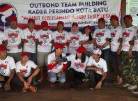 Partai Perindo Kota Batu menggelar outbound untuk membangun kebersamaan dalam memenangkan Pileg 2019.