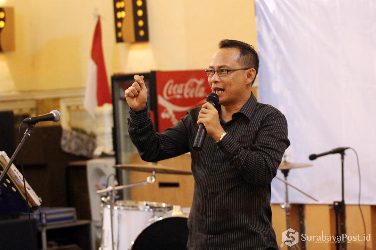 Rektor IKIP Budi Utomo Malang Dr Nurcholis Sunuyeko MSi.