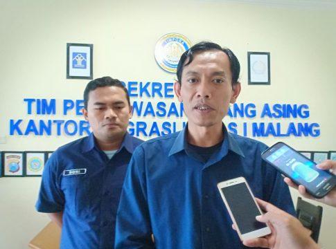 Kasi Intel Dakim Imigrasi Malang Eko Julianto.