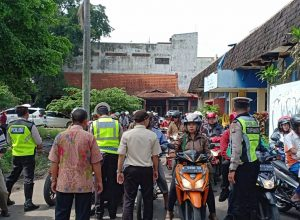 Satlantas Polres Malang Kota bersama Bapenda Prov Jawa Timur menggelar operasi gabungan.