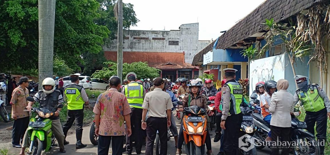 Satlantas Bersama Bapenda Jatim Gelar Operasi Gabungan