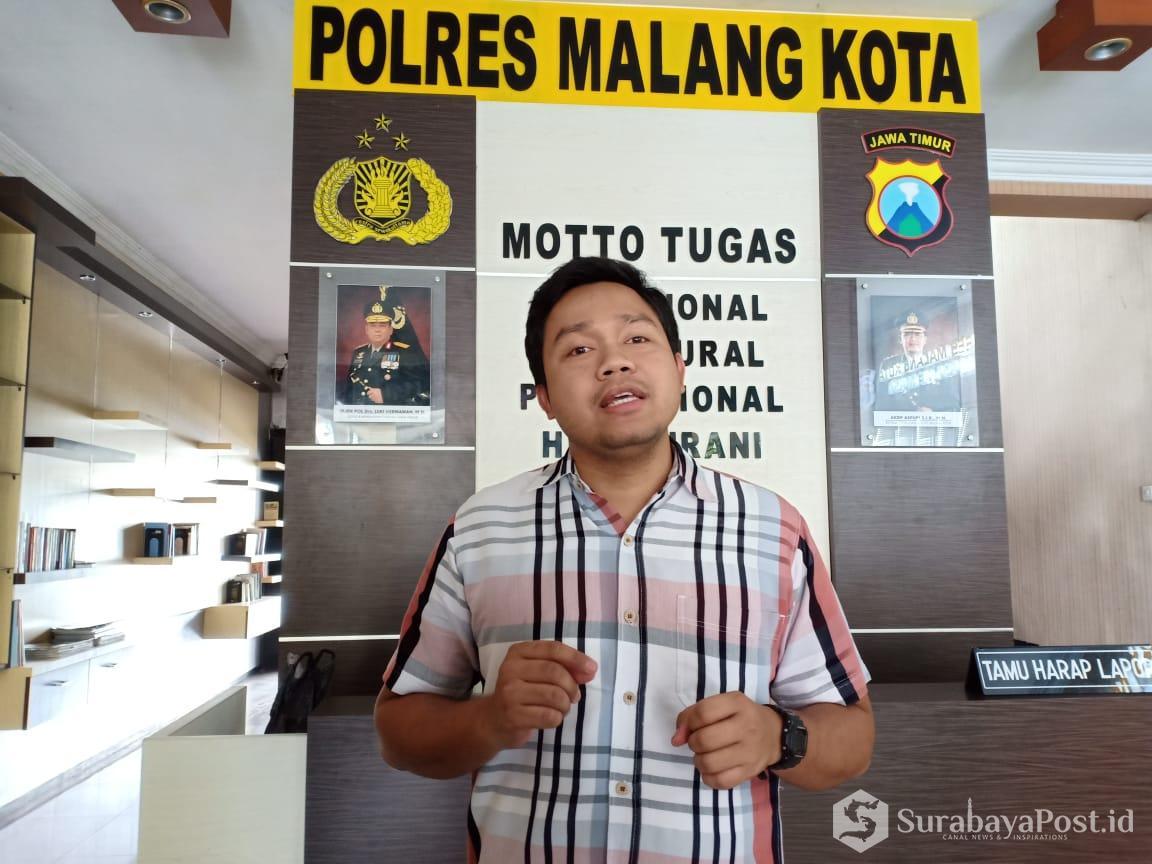 Kasat Reskrim Polres Malang Kota AKP Komang Yogi Arya Wiguna.