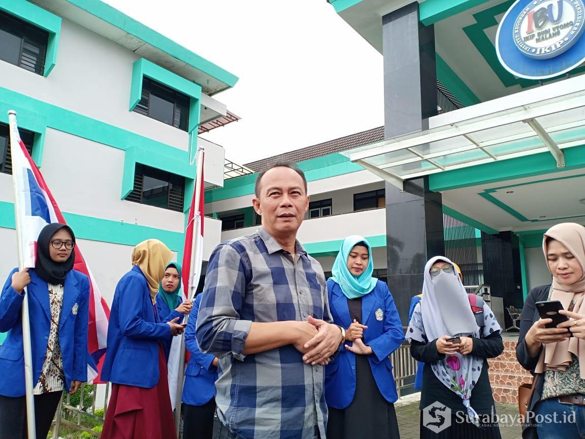 Rektor IKIP Budi Utomo Malang Dr H Nurcholis Sunuyeko MSi.