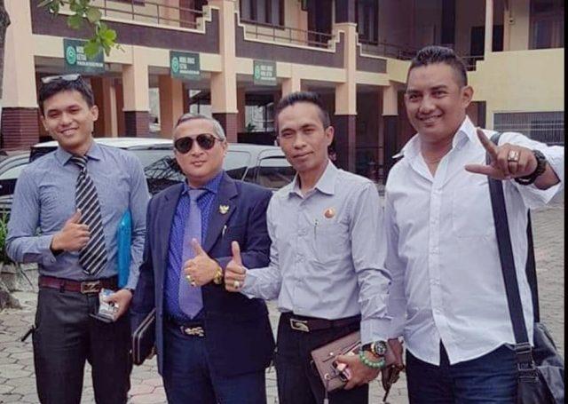 Suwito (kanan) bersama koleganya, Sulianto, Indra BAYU dan Rifky.