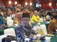 Wali Kota Sutiaji mengikuti rapat kerja dengan Menko Kemaritiman dan Menteri Lingkungan Hidup.