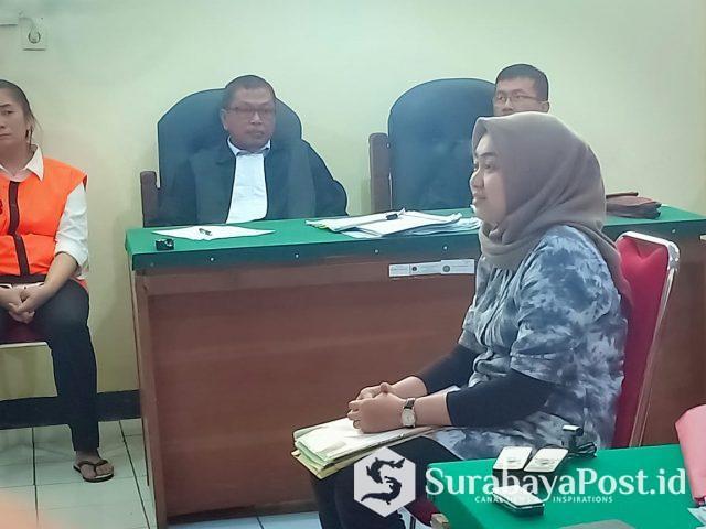 Sidang Maria Purbowati yang menghadirkan tujuh saksi.