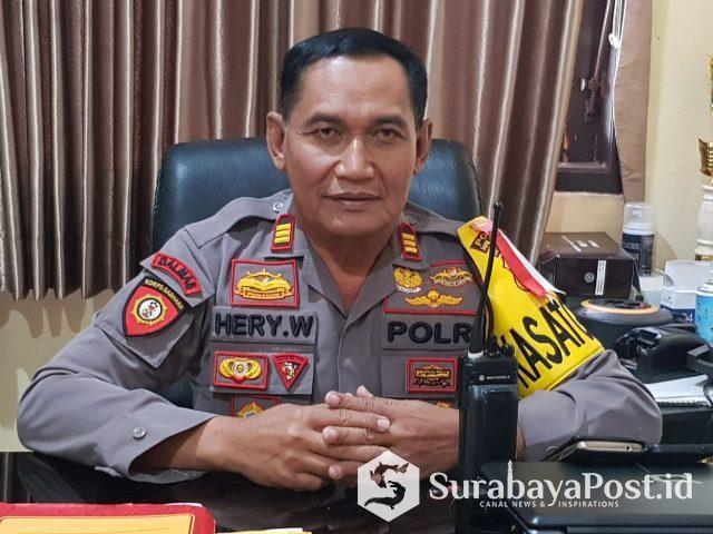 Kasat Sabhara Polres Malang Kota, AKP Hery Widodo