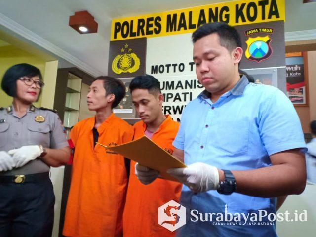 Kasat Reskrim Polres Malang Kota, AKP Komang Yogi Arya