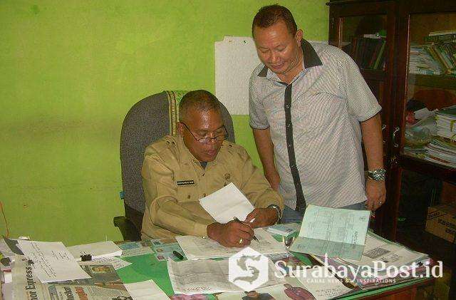 Kepala Dinas (Kadis) Dukcapil Kabupaten Malaka Ferdynandus Rame