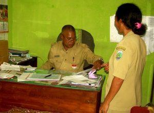 Kepala Dinas (Kadis) Kependudukan dan Pencatatan Sipil (Dukcapil) Kabupaten Malaka Ferdynandus Rame