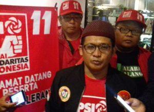 Ketua DPW PSI Jatim Shobikin Amin