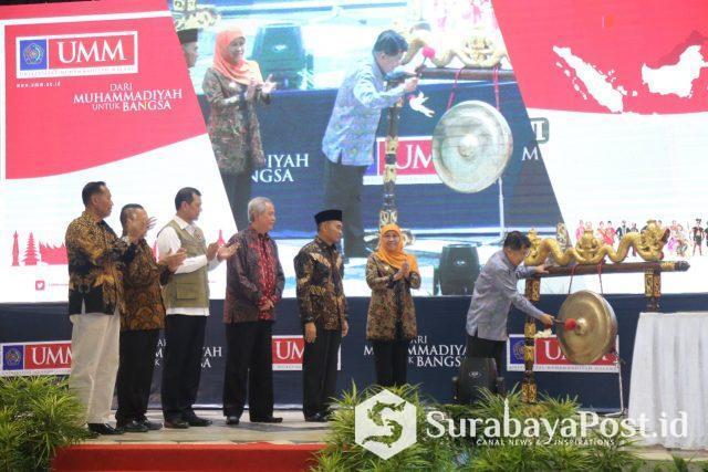 Wapres RI HM Jusuf Kalla membuka Festival Kebangsaan II di kampus Universitas Muhammadiyah Malang (UMM)
