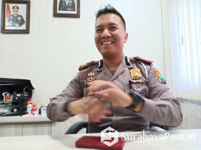 Kasat Lantas Polres Malang Kota, AKP Ari Galang Saputra,