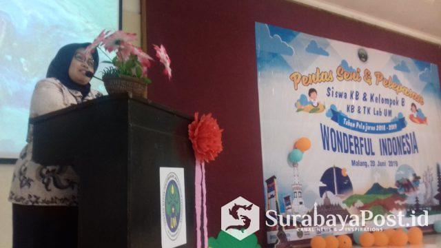 Kasi PAUD Dinas Pendidikan Kota Malang Iva Rosita