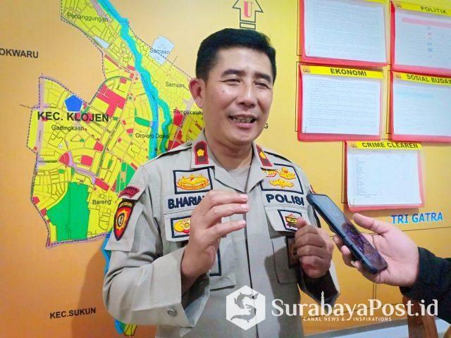 Kapolsek Klojen, Komisaris Polisi (Kompol) Budi Harianto