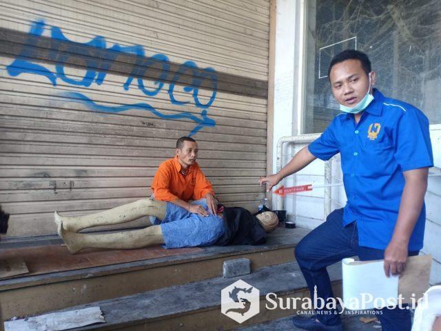 Proses rekontruksi 38 adegan yang diperagakan. Korban diperankan oleh anggota Polwan Polres Malang Kota.