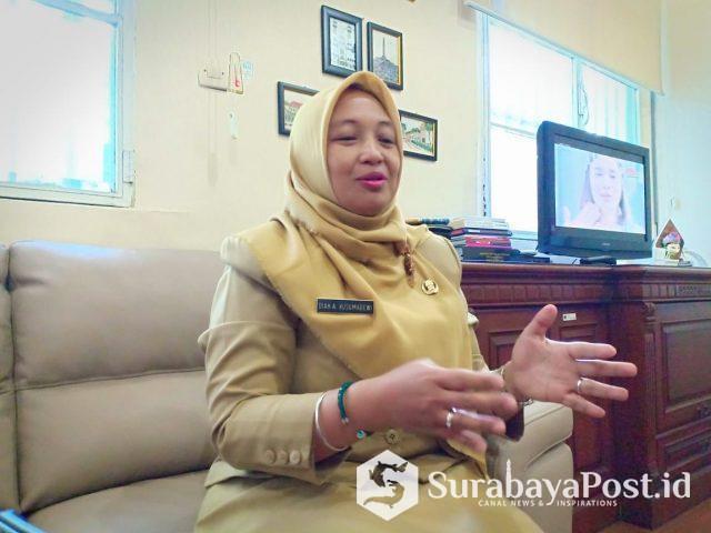 Plt Kepala Dinas Lingkungan Hidup (DLH) Kota Malang, Diah Ayu Kusuma Dewi,