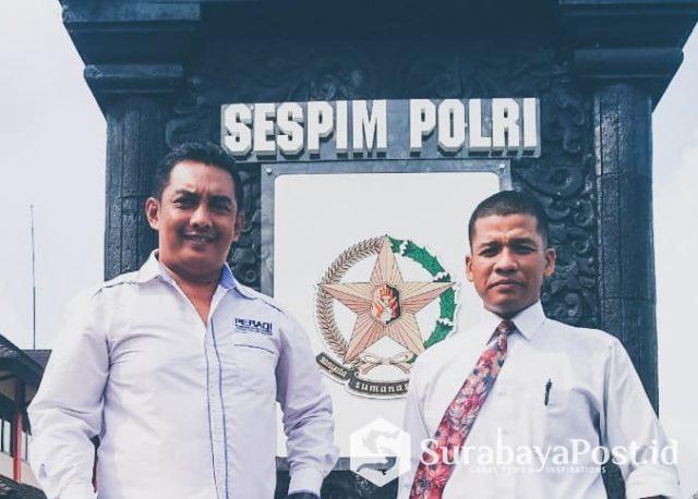 Ketua Bidang Humas DPC Ikadin Malang, Suwito (kiri).