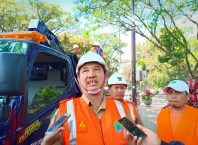 Kepala Bidang Penerangan Jalan Umum (PJU) Dinas Perumahan dan Kawasan Pemukiman (Perkim), Agus Sunarhadi,