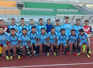 Tim IBU Malang yang sukses mengalahkan Unesa A dalam Piala Menpora