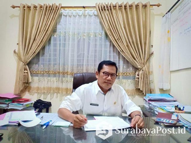 Kepala Bidang (Kabid) Bina Marga Dinas PUPR Kota Malang Ir Didik Setyanto