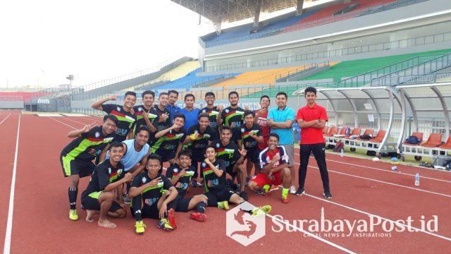 Tim kesebelasan IBU Malang ini optimistis bisa lolos ke final Ligama Piala Menpora 2019 di Yogyakarta.