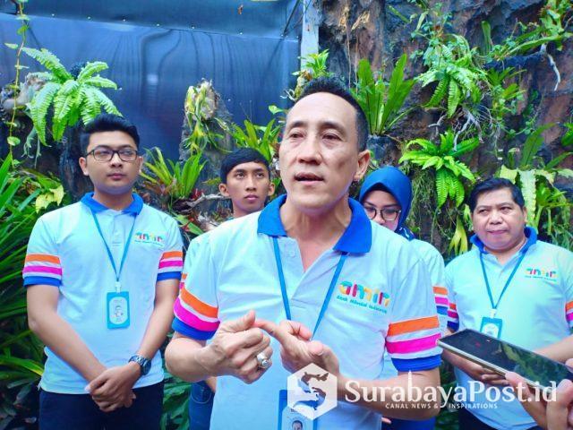 Ferry Bambang Tjahyono, S.E, CEO AMIN, saat memberikan keterangan kepada wartawan