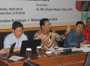 Fadel Muhammad saat di Universitas Brawijaya Malang