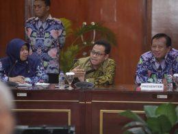 Wali Kota Malang Sutiaji saat memaparkan Brexit di hasan tim juri Inovasi Pelayanan Publik 2019.