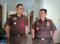 Kajari Kota Malang, Amran Lakoni bersama Kasi Pidsus, Ujang Supriyadi