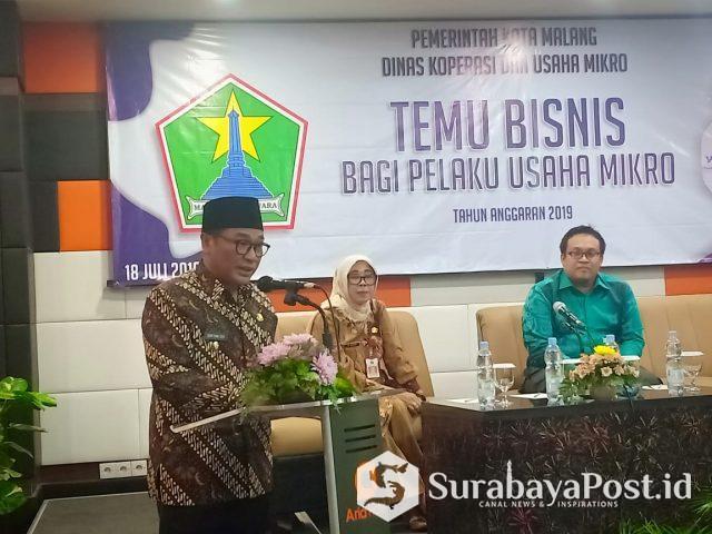 Wawali Kota Malang Sofyan Edi Jarwoko
