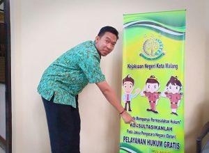 Kasi Datun Kejari Kota Malang, Dian Purnama, SH