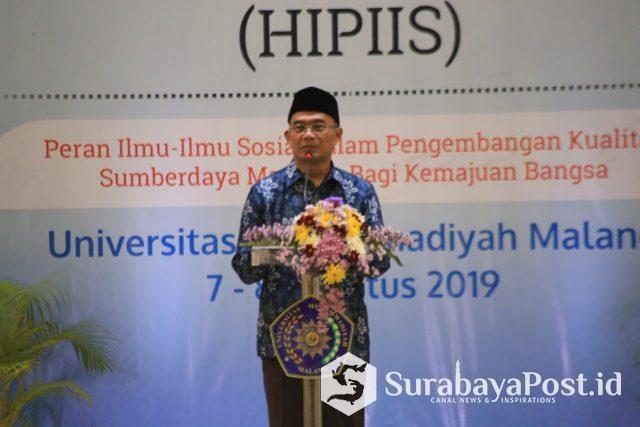 Ketum PP HIPIIS yang juga Mendikbud RI Prof Dr Muhadjir Effendy