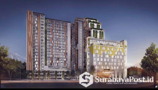 Apartemen yang sudah dibangun NSTA di Kawasan Jalan Sukarno-Hatta (Suhat) Kota Malang.
